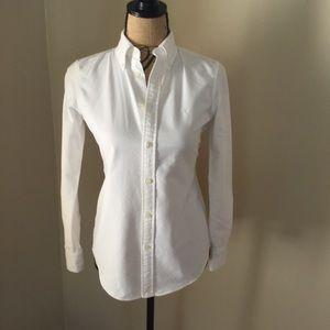 Ralph Lauren white oxford slim fit size XS